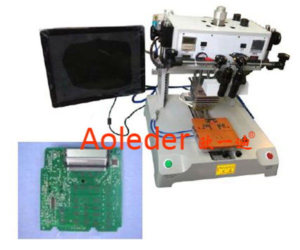 PCB/LCD Hot Bar Soldering Machine/Pulse Heat Hot Bar Bonding Equipment,CWHP-3A