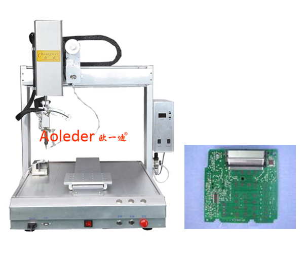 Automatic  Soldering Machine Fast Speed Use For LCD PCB,CWDH-411