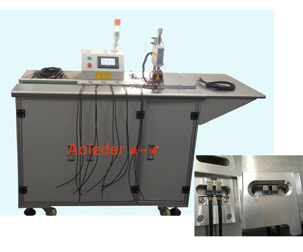 Automatic Hot Bar Soldering Machine Fast Speed Use For Wire Welder,CWPDY2IN