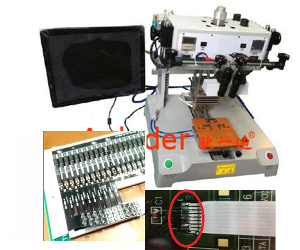USB Electrical Terminal Automatic Hot Bar Soldering Machine,CWPU-1A