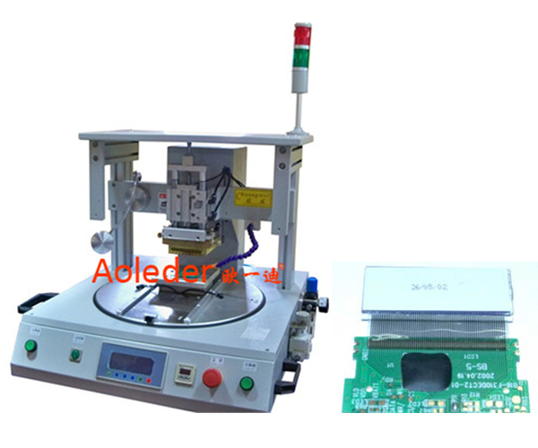 Thermode Hot Bar Soldering Machine For TAB FFC FPC To LCD PCB,CWPC-1A
