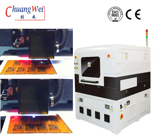 Automatic Focusing PCB Depanelization Machine,FPC Laser Separator Equipment,CWVC-5L