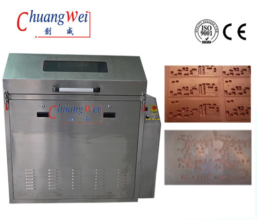 Stainless Steel Fixture SMT Cleaning Machine Stencil Washing Machine for Steel Mesh, CW-5200