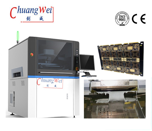Solder Paste Screen Printing Machinery SMT Solder Paste Printing Process,CW-L6