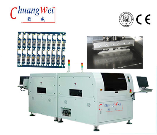 Printed Circuit Board Screen Printer With Automatic Printing System,CW-BTB