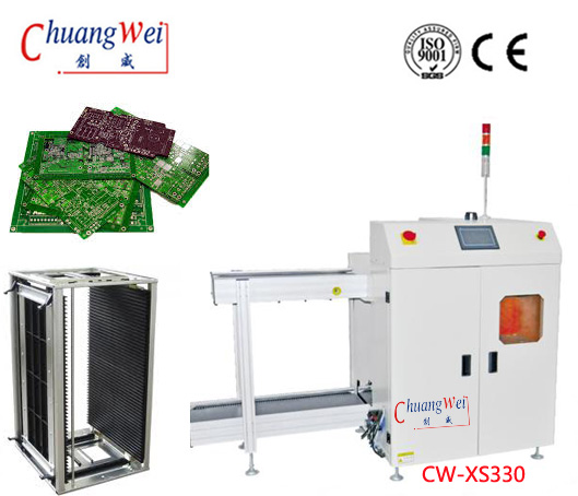Multi Magazine PCB Unloader for PCB Assembly Line,CW-XS330