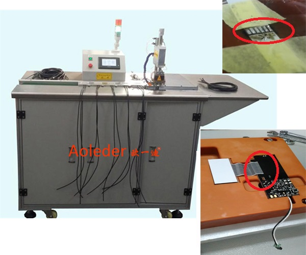 USB/HSC Heat Hot Bar Soldering Mach