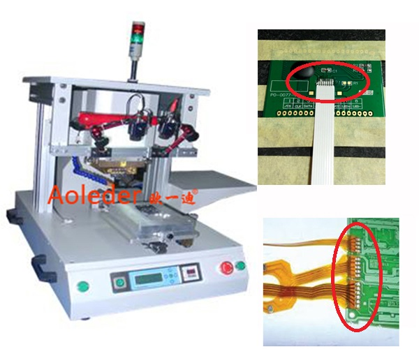 High Precision Hot Bar Soldering Machine Bonding For FPC  FFC To PCB Board,CWPP-1A