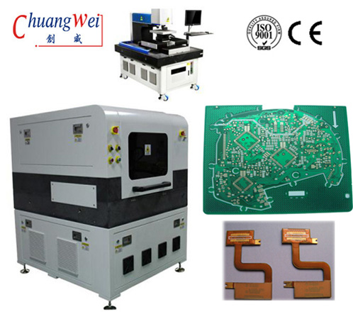 PCB 355nm Laser Depaneling Machine For SMT Production Line Low Power Consumption,CWVC-5L