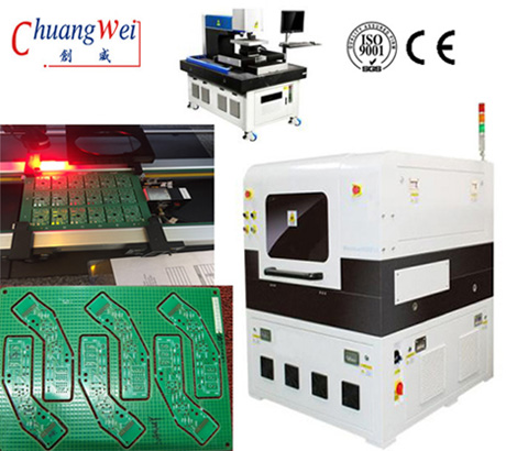 Fabrication PCB Laser Depaneling Machine Depanelizer Cutting Equipment,CWVC-5L