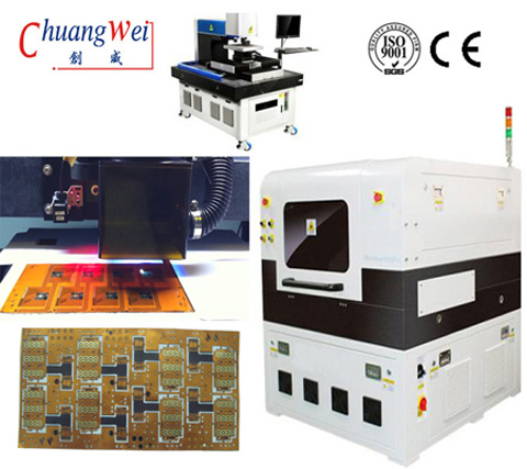 FPC Laser Cutting Machine Precision FPC Depaneling Machine FPC Depanelizer,CWVC-5L