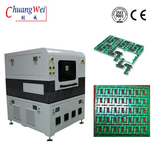 PCB Depanelin Equipment Laser Depaneling of Flex PCB,CWVC-5L