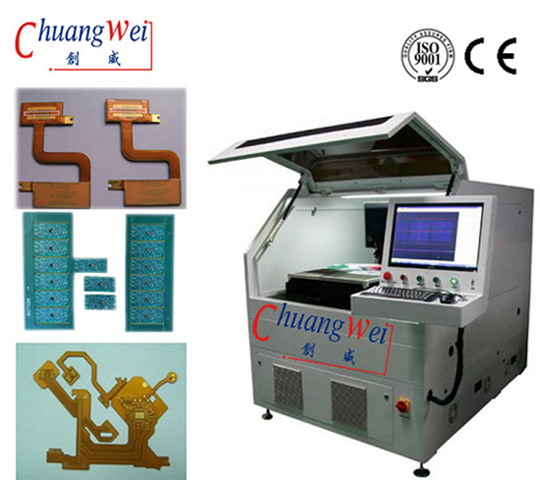 China FPC PCB Laser Cutting Machine with CE,CWVC-5S