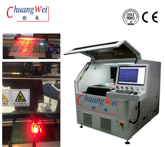 Depaneling PCB FPC,PCB / Flex Circuit Depaneling Equipment Wihout Stress ,CWVC-5S