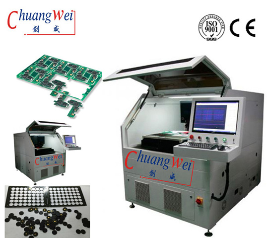 FPC CNC Laser Cutting Machine with CE-No Stress - PCB Depaneling,CWVC-5S