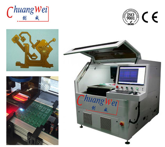 UV Laser PCB Separator PCB Depaneling with ±20 μm Precision for FR4 PCB Boards,CWVC-5S