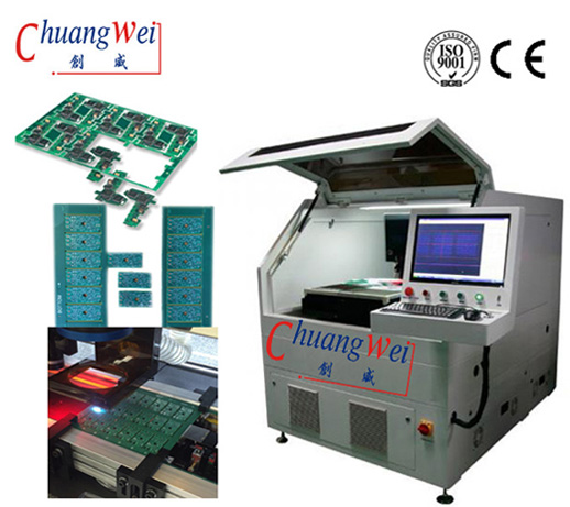 Flexible Printed Circuit / PCB Board Cutting Machine Laser Depaneling System,CWVC-5S