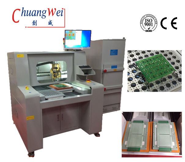 PCB Router Cutting Machine For Tab - Routed PCBA Depaneling Solution, CW-F04