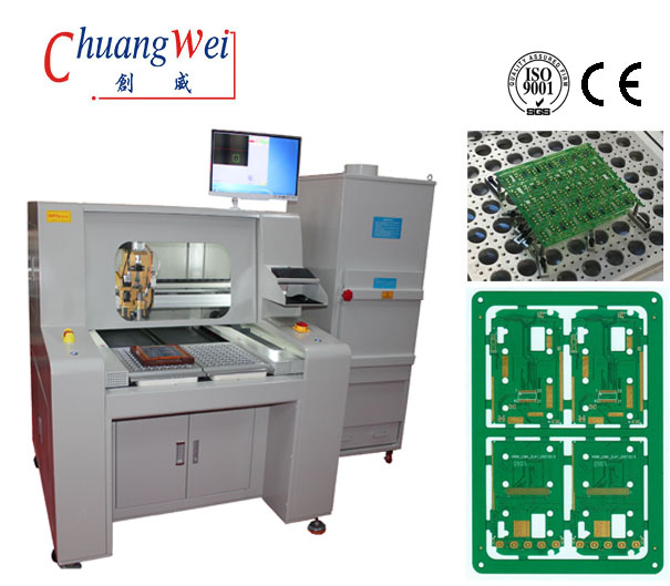 High Precision Board PCB Router Machine PCB Depanelizer Automated Robot,CW-F04