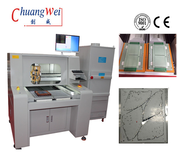 High Efficient PCB Singulation Circuit Board Router Equipment PCB Separator Machine,CW-F04