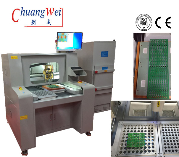 PCB Router Cutting Machine,PCB separator,CNC router,PCB depaneling machine,PCB Depaneler,CW-F04