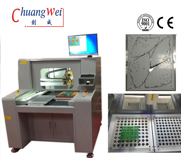 PCB Separator (Router) ,PCB Depaneling Machine,CW-F04