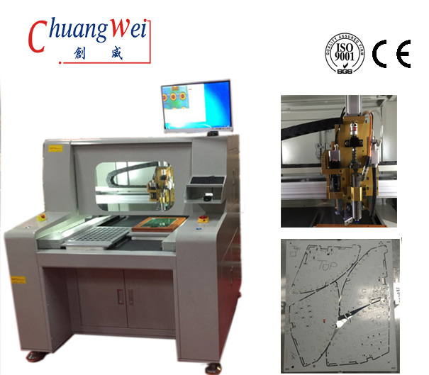CNC PCB Router Separator Router Machine Manufacturer from China, CW-F04