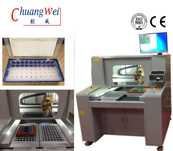High Resolution CCD Video Camera TAB PCB Separator Cutting Machine Depaneling Equiment,CW-F04