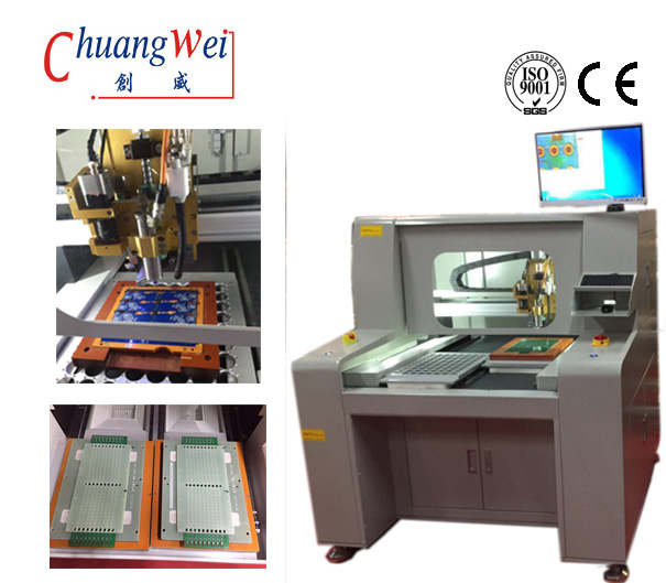 CNC Router Machine Automatic PCB Router With CCD Camera PCB Separator,CW-F04