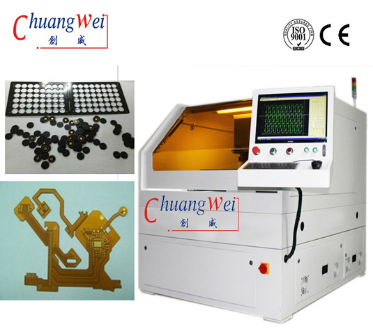 PCB FPC Laser Separator PCB Punch Depanel Machinery FPC Cutting Machine ,CWVC-5S