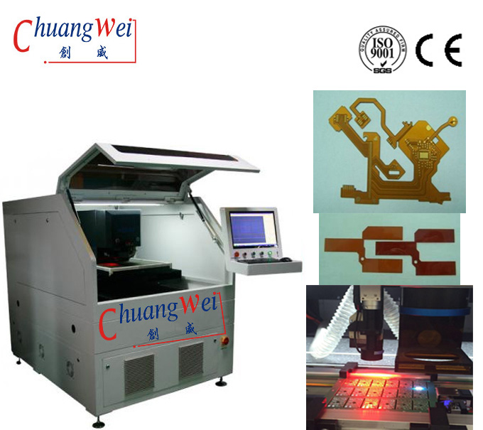 10W UV Optowave Laser PCB Separator Machine For Non Contact Depaneling Equipment, CWVC-5S