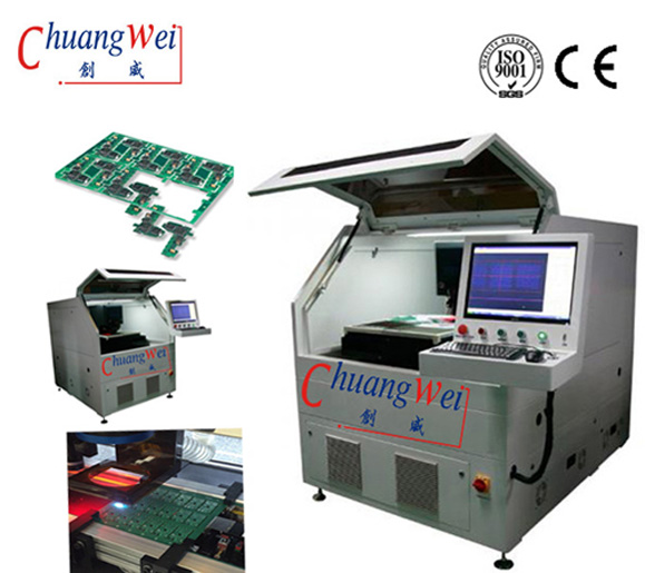 Laser Processing PCB Cutting Machine FPC Depaneling Machine, CWVC-5S