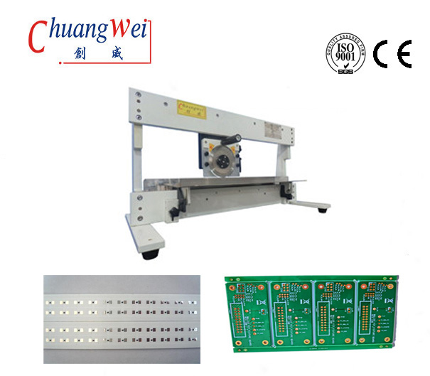 Automatic Pcb Separation For Pcb Panel, Pcb Separator Machine With Circular & Linear Blade,CWV-1M
