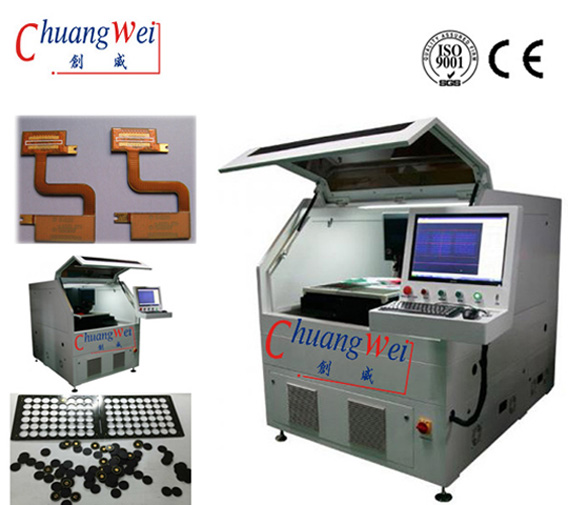 PCB/Flex circuit Laser Depaneling - Industrial Laser Equipment Control Micro Systems ,CWVC-5S