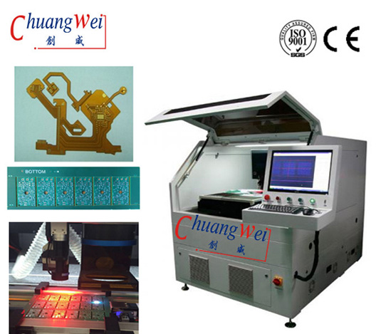 Stress-Free Depaneling of Assembled Boards ,PCB Depaneling with Lasers,CWVC-5S