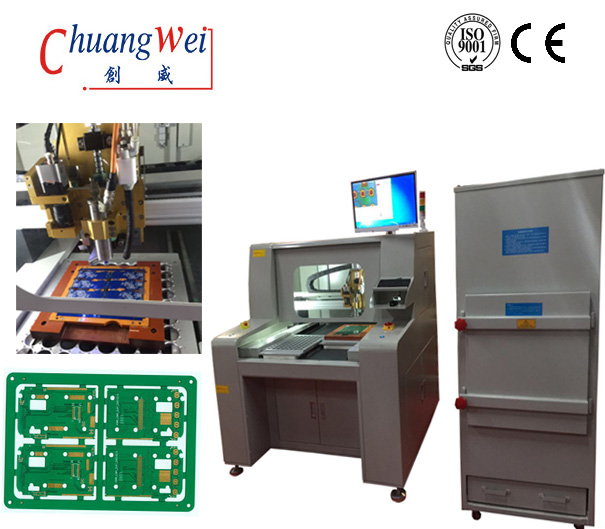 Circuit Assembly Online Magazine - Depaneling of Circuit Boards, PCB Searator,CW-F04