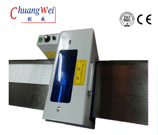 High Speed PCB Depaneling Machine With Nine Blades Cutting LED Strip,CWVC-1SN