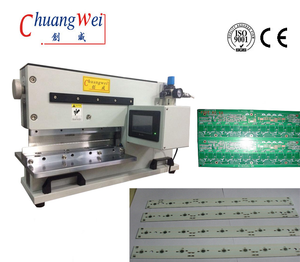 Pneumatically Driven FR4 Pcb Separator Machine  PCB Cutter,CWVC-330