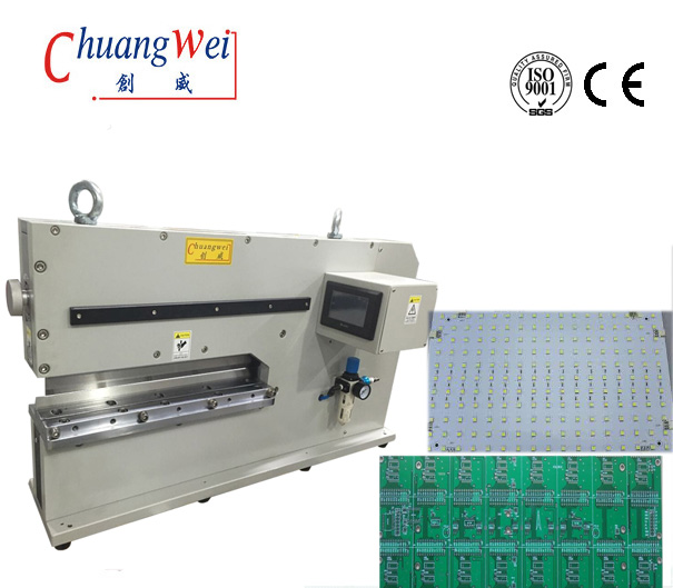 PCB Cutter PCB Singulation Machine Separator for MCPCB  Aluminium Board ,CWVC-480