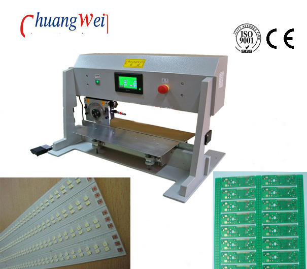 Automatic Blade Moving V Cut PCB Singulation Machine , CWV-1A