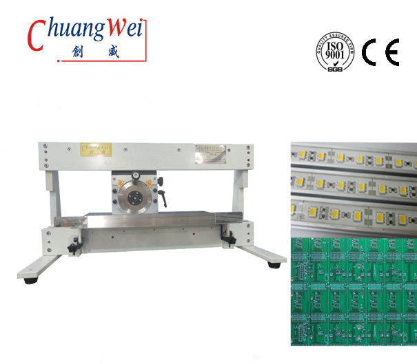 Automatic V Cut Pcb Depaneling Equipment, High Precision Pcb Separator Machine, CWV-1M