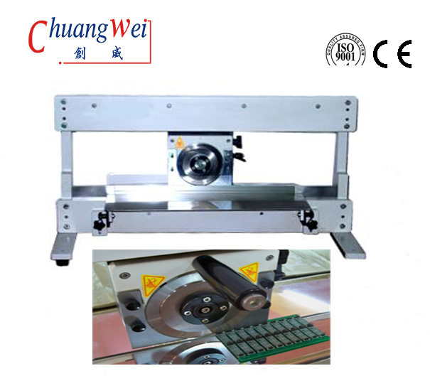 V Cut Pcb Depaneling Equipment Pcb Separator Machine With Circular  Blade, CWV-1M