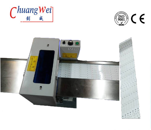 Automatic PCB Depaneling Machine LED Panel Separating High Speed Steel,CWVC-1SN