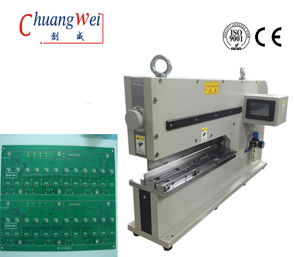 PCB Depaneling Machine For FR1, FR4, CEM-1, Aluminum Boards,CWVC-480