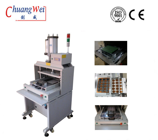 Automatic Pcb Punching Machine, Fpc / Pcb Punch Depaneling Machine For SMT Assembly,CWPE
