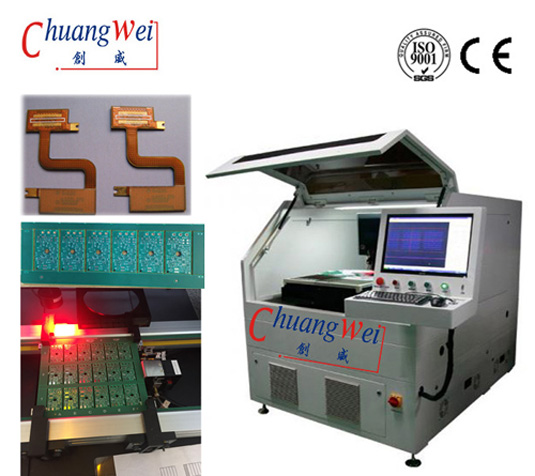 PCB Depanel Equipment,PCB / FPC Depanelizer Machine,Laser Cutter For PCB/FPC,CWVC-5S
