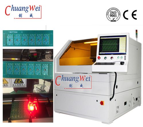 China CNC UV Laser Cutting Machine for Printed Circuit Board Pcbs,CWVC-5S