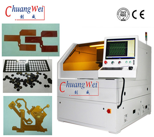 Laser PCB Depaneling Machine with CE Certification,CWVC-5S
