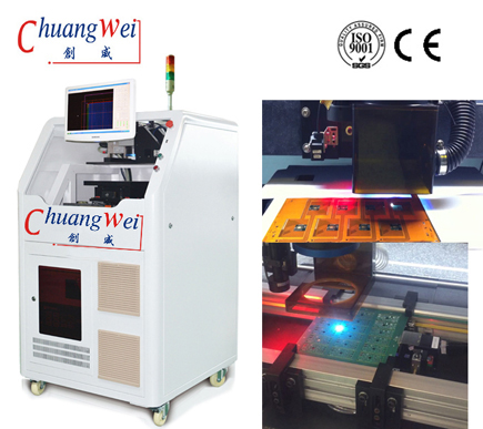 Laser Depaneling Machine For No Stress Cutting Laser Cutter,CWVC-6