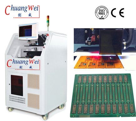 Inline Laser Depaneling Machine Laser PCB Cutting Machine,CWVC-6